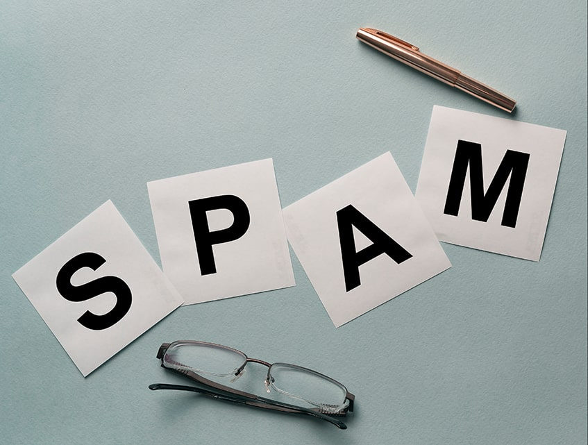 Labelled as Spam