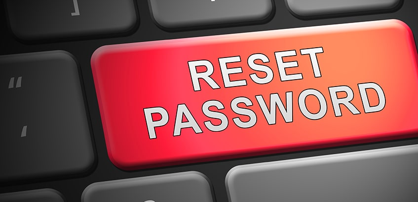 Resetting Your Password