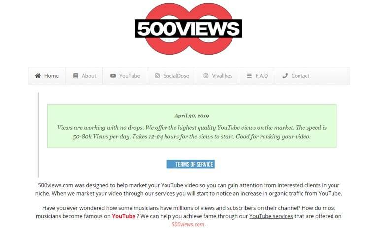 #8 500views