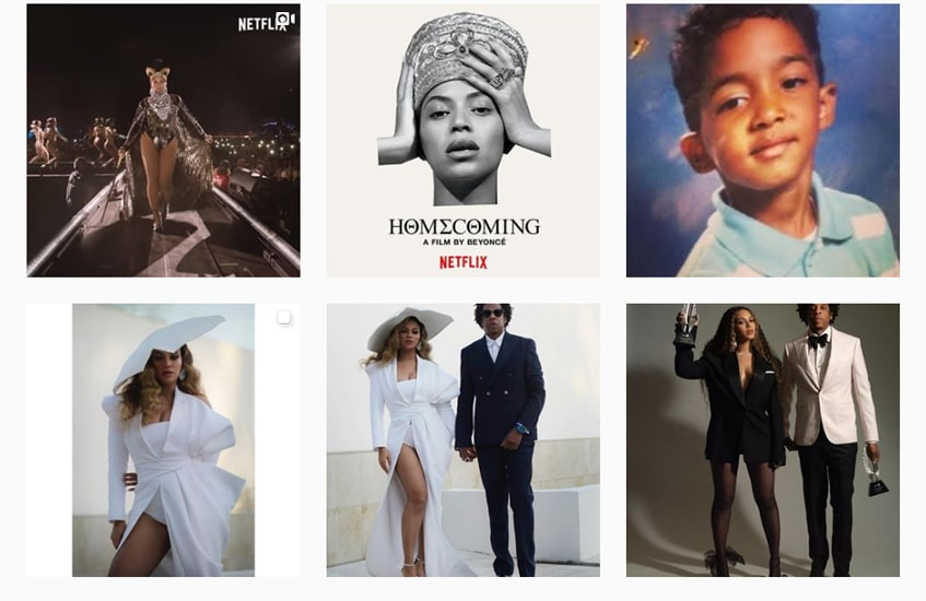#6beyonce-post-top-chartes-instagram