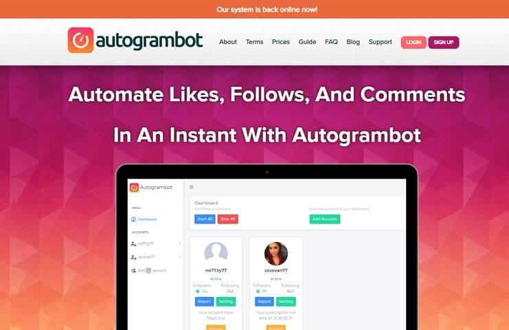 #3 Autogrambot