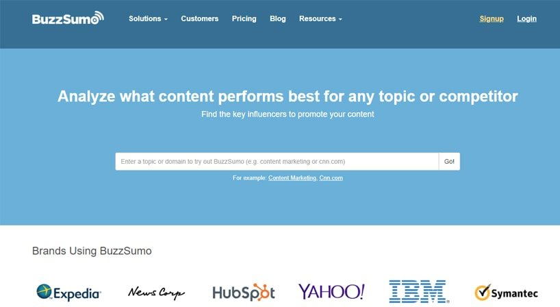 BuzzSumo Review: Kickstarting Every Channel