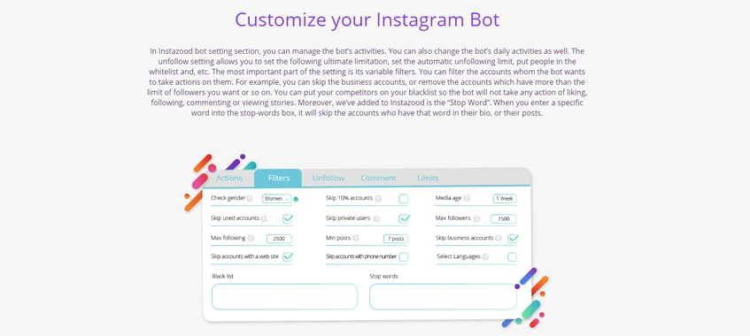 customize-instazood-single-review