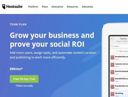 hootsuite-single-review-plan-team
