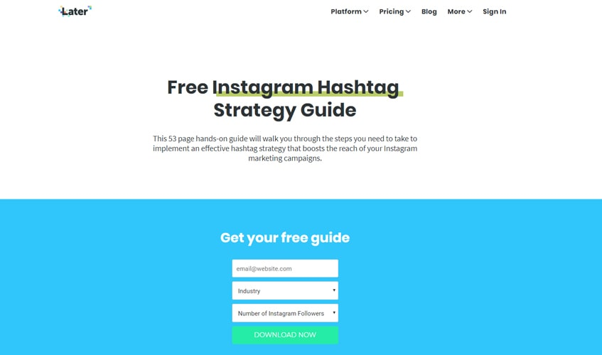 later-single-review-How to Create A Hashtag on Later
