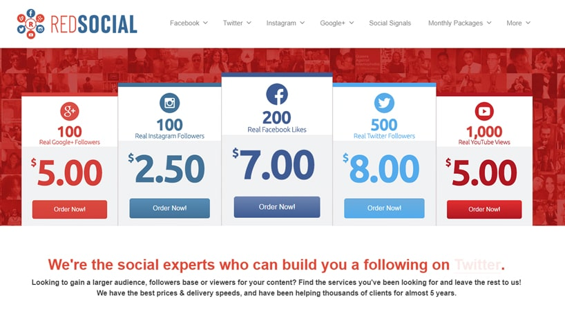 RedSocial Review: Popularity in One Click