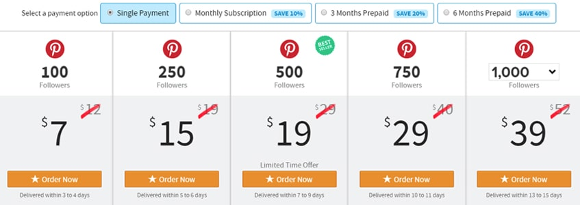 pinterest-followers-buyrealmarketing -single-review