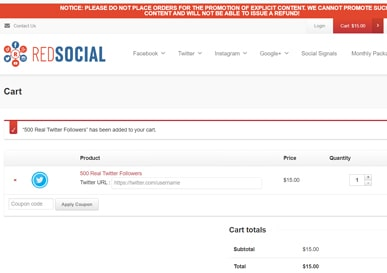 Redsocial net review
