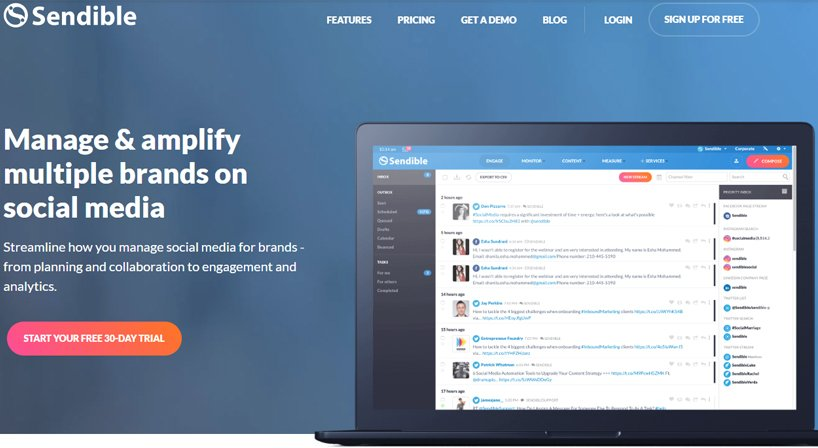 Sendible Review: Top-Notch Software For Quality Social Media Monitoring