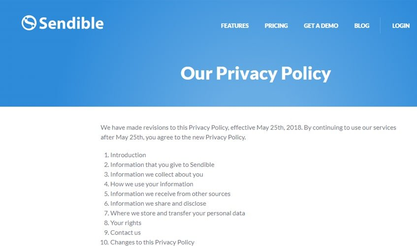 sendible-single-review-privacy-policy