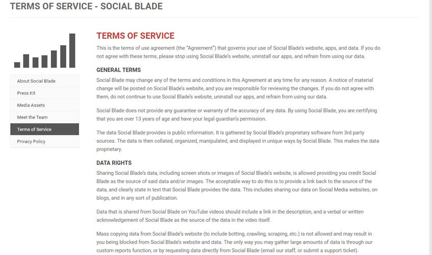 socialblade-singl-review-term-of-services