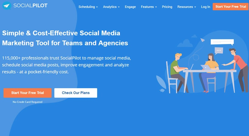 SocialPilot Review: Social Media in the Tip of One's Fingers