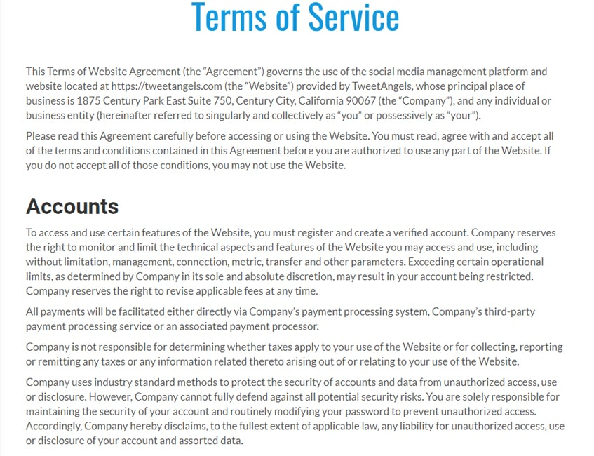 tweetangels-sr-product-terms-of-services
